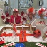 Football fever at Birch Green	Care Home