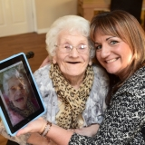 Mavis goes viral with Over the Rainbow at Birch Green