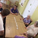 Teaching dominos
